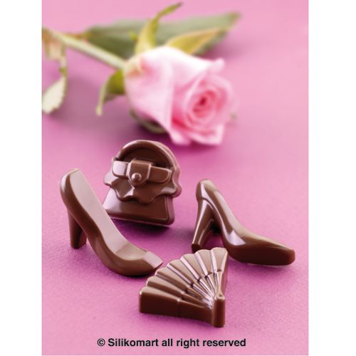 """Mal voor """"mode"""" chocolaatjes"""