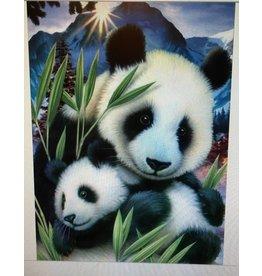 Diamant mozaïek Panda's