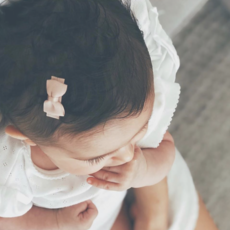 Sweet and cute baby hair clips
