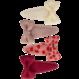 Your Little Miss Satz Baby-Haarspangen mit Blumenschleife