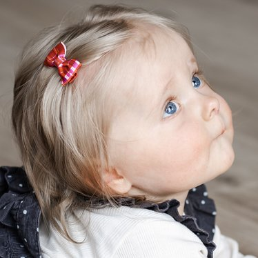 Your Little Miss Baby haarspeldje pretty check