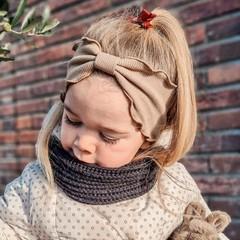 Your Little Miss Hoofdband voor meisjes fudge