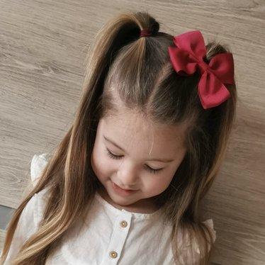 Your Little Miss Haarspeldje met strik large beauty