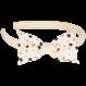 Your Little Miss Diadeem grey dots