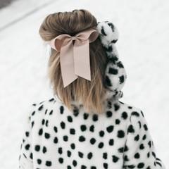 Your Little Miss Haarstrik met elastiek vanilla