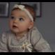 Your Little Miss Ivoorkleurig baby haarbandje met strik