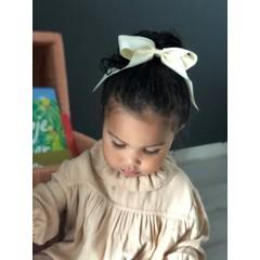 Your Little Miss Haarschleife mit elastischer Rose