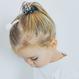 Your Little Miss Mini Scrunchie Leopard schwarz