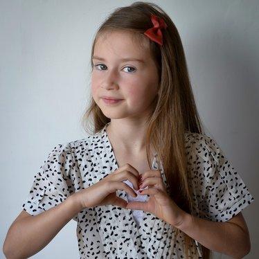 Your Little Miss Haarspange Mandarine