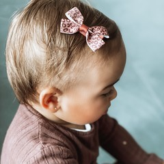 Your Little Miss Baby hair bow animal
