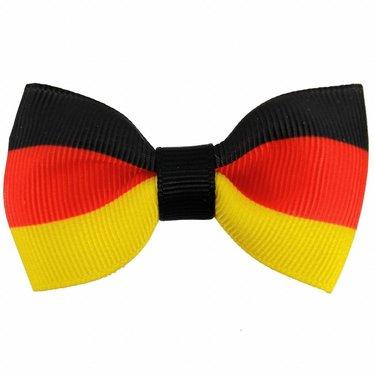 Your Little Miss Haarspange mit Schleife mit deutscher Flagge