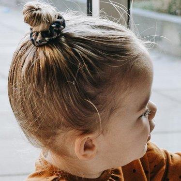 Your Little Miss Mini Scrunchie Leopard Braun
