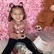 Your Little Miss Setje van 3 grote elastiekjes met pompom sweet