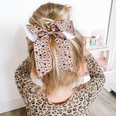 Your Little Miss Haarstrik met elastiek animal