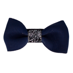 Your Little Miss Hair clip navy ♡ sparkle