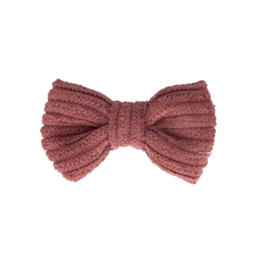 Your Little Miss Baby haarspeldje rosy mauve rib