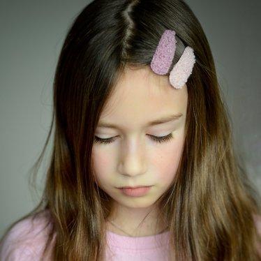 Your Little Miss Setje meisjes haarspeldjes teddy candy