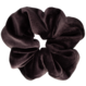 Your Little Miss Medium velvet scrunchie soft black