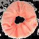 Your Little Miss Velvet scrunchie peach