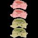Your Little Miss Setje van 4 kleine elastiekjes spring moss