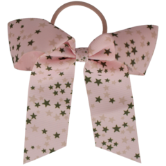 Your Little Miss Hair bow with elastic star heaven