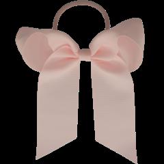 Your Little Miss Haarschleife mit elastischem Puderrosa