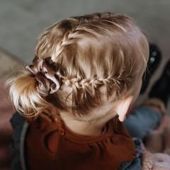 Your Little Miss Mini scrunchie woods