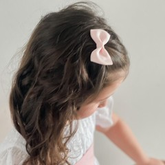 Your Little Miss Hair clip soft pink