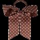 Your Little Miss Haarschleife mit elastischen Chutney-Punkten