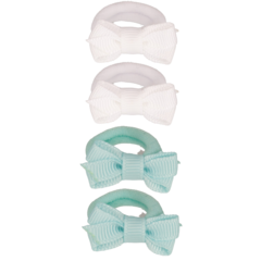 Your Little Miss Set of 4 small elastic bands minimal ice