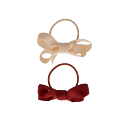 Your Little Miss Set of 2 small rubber bands with bow rest