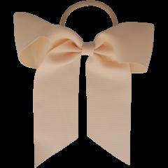 Your Little Miss Haarschleife mit elastischem nacktem Leinen