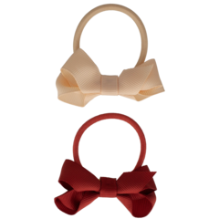 Your Little Miss Set of 2 rubber bands with bow rest