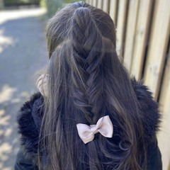 Your Little Miss Hair clip taupe