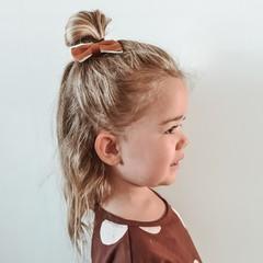Your Little Miss Haarspange Rost Leder