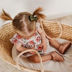 Your Little Miss Baby Haarspange dunkelgrün