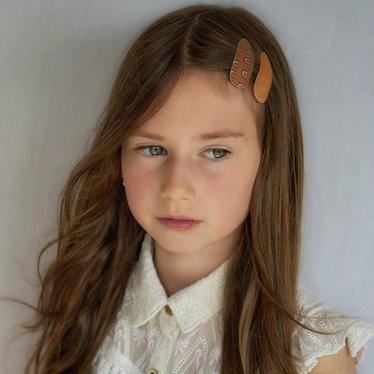Your Little Miss Satz Mädchen Haarspangen neutralen Regenbogen
