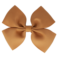 Your Little Miss Hair clip with bow large pale gold