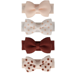 Your Little Miss Set of baby hair clips little dots