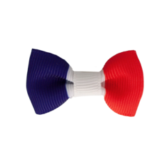 Your Little Miss Baby hair clip French flag