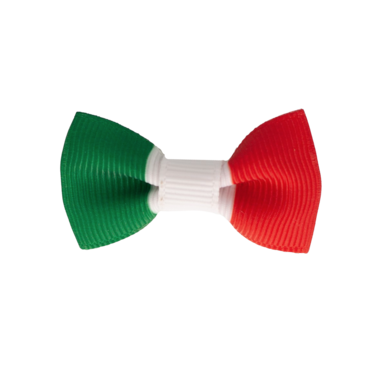 Your Little Miss Baby haarspeldje Italiaanse vlag