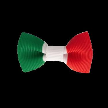 Your Little Miss Babyhaarspange Italienische Flagge