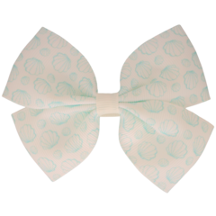 Your Little Miss Hair clip with bow large ocean shells