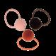 Your Little Miss Setje van 3 kleine elastiekjes met pompom chutney