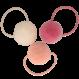 Your Little Miss Setje van 3 grote elastiekjes met pompom summer