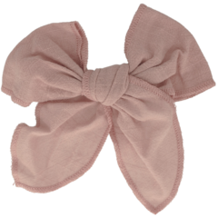 Your Little Miss Hair clip with bow large victorian rose linen