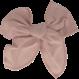 Your Little Miss Haarspeldje met strik large victorian rose linnen