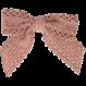 Your Little Miss Haarspeldje met strik large sand lace
