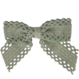 Your Little Miss Haarspeldje met strik large blue lace