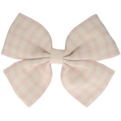 Your Little Miss Hair clip with bow large nude check